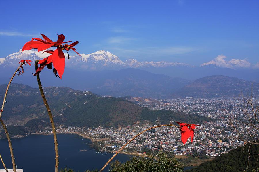 Himalayan City Of Pokhara Photograph