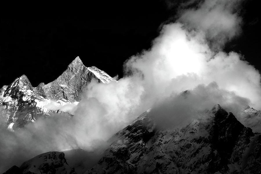 Himalayan Mountain Peak by Aidan Moran