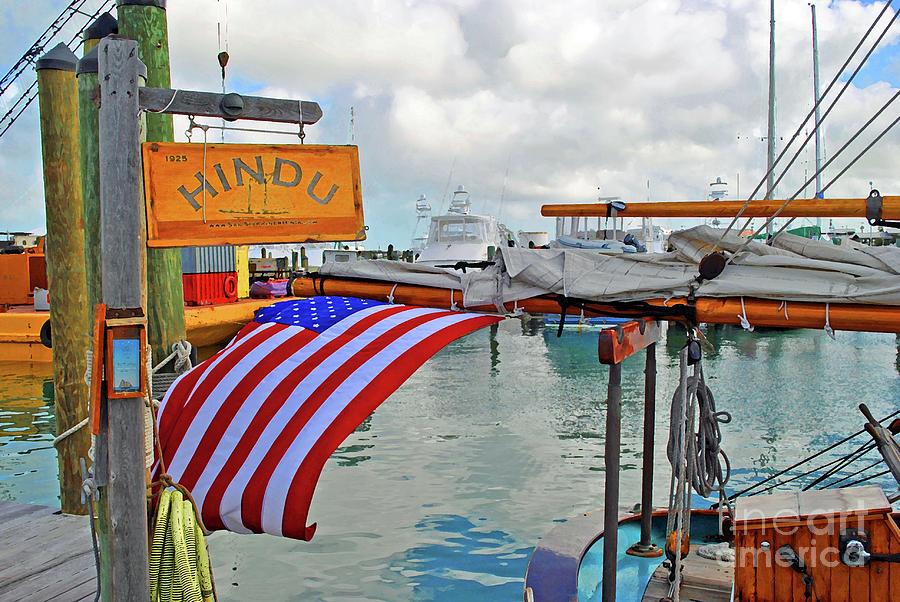 Hindu Photograph - Hindu Docks by Jost Houk