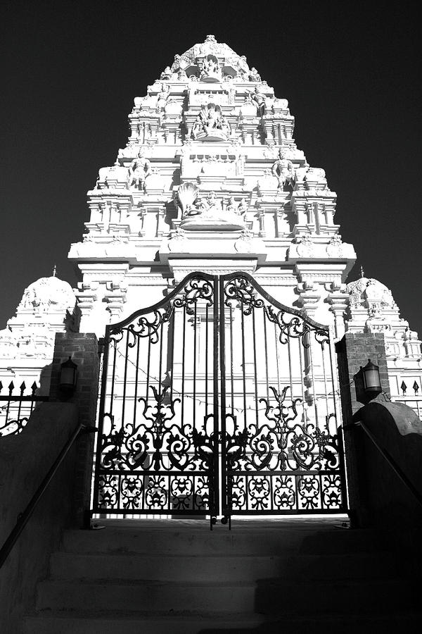 Temple Photograph - Hindu Temple by Jack Collins