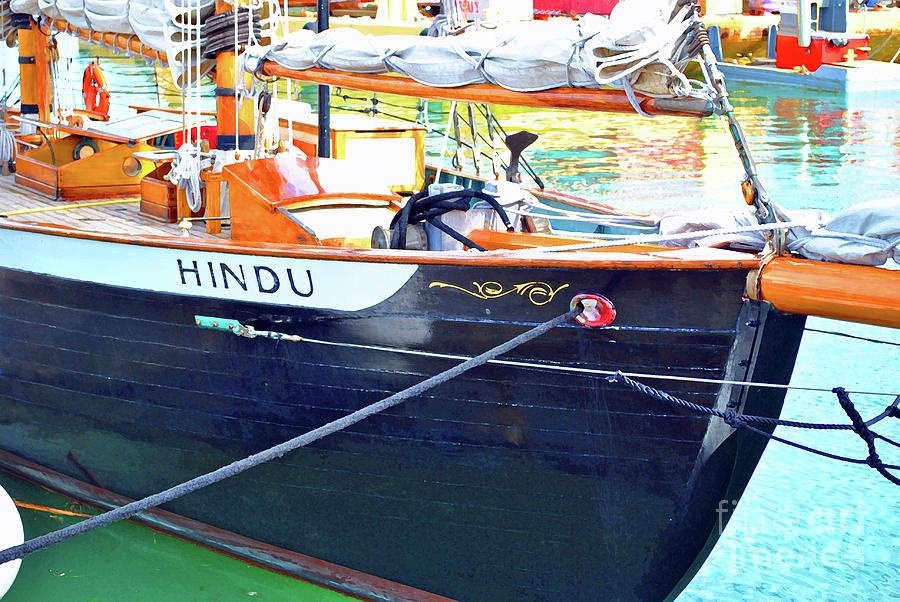 Hindu Photograph - Hindu Travels by Jost Houk