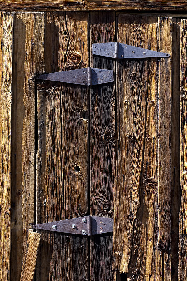 Hinges Photograph - Hinges by Kelley King