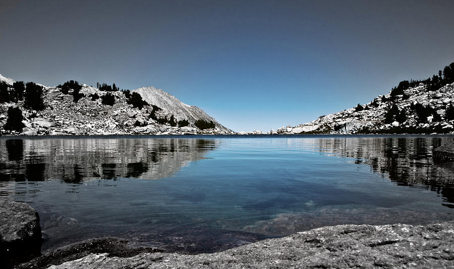 Treasure Lake Photograph - Hint Of Treasure by Chris Brannen