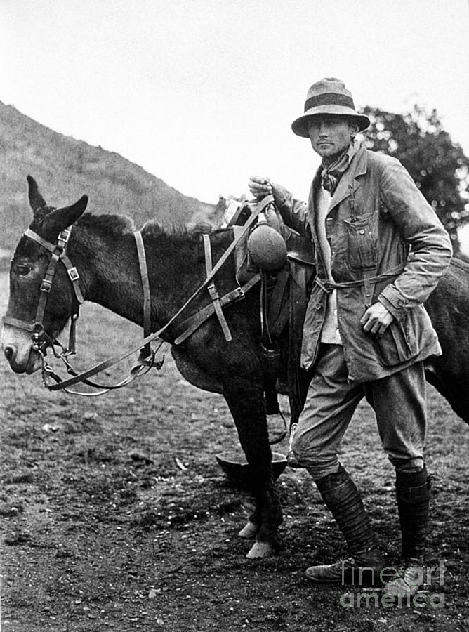 1911 Photograph - Hiram Bingham (1875-1956) by Granger