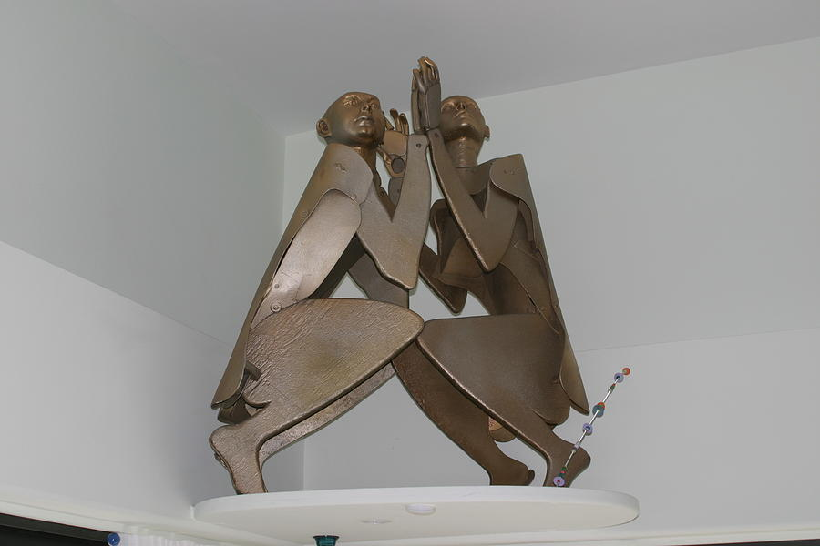 Recycle Sculpture - His And Hers by Michael Jude Russo