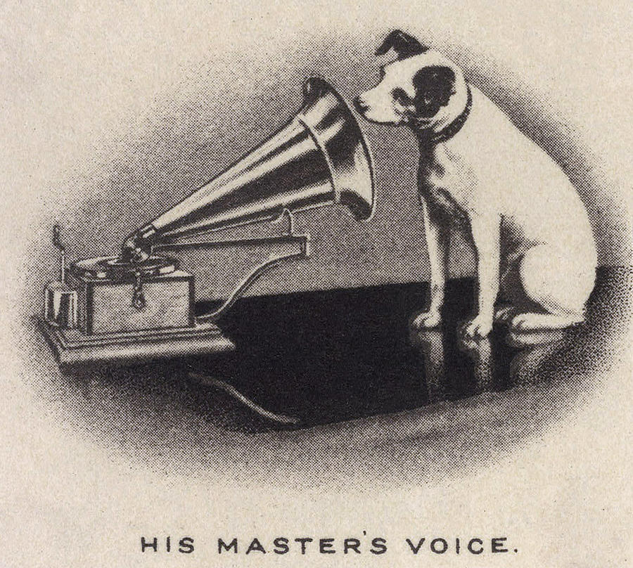 His Masters Voice Originally Photograph By Everett