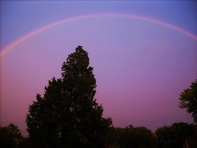Rainbow Photograph - His Promise by Richard  Hubal