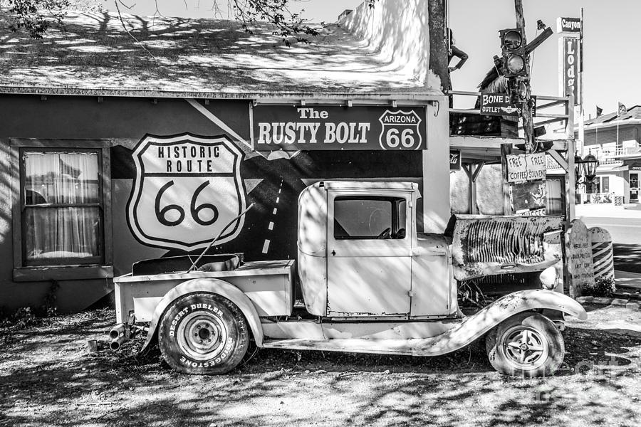 Historic 66  Roadside Photograph
