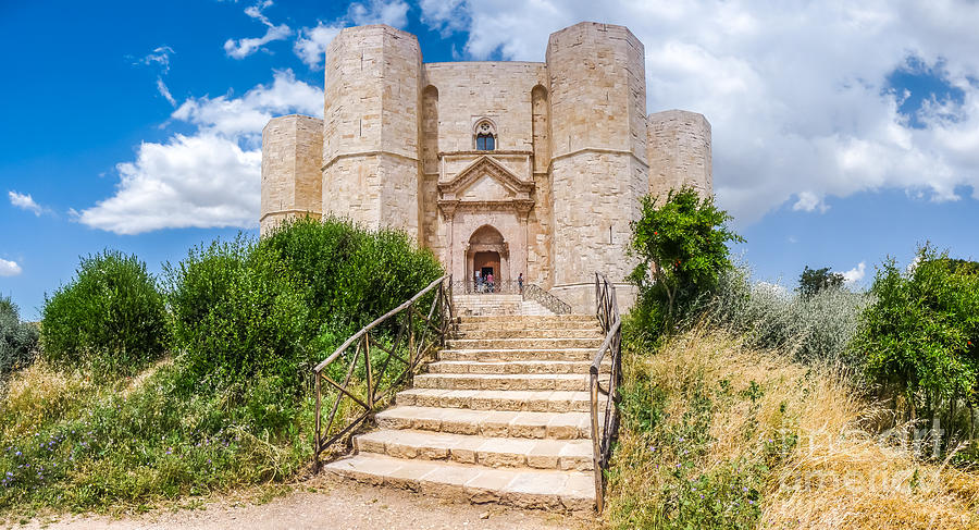 Historic And Famous Castel Del Monte In Apulia, Italy Photograph