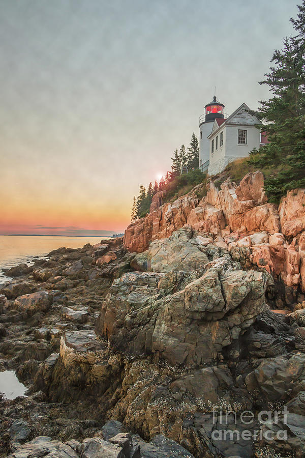 Historic Bass Harbor Lighthouse Photograph