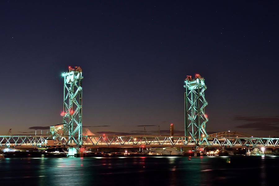 Bridges Photograph - Historic Bridge Site by Justin Mountain
