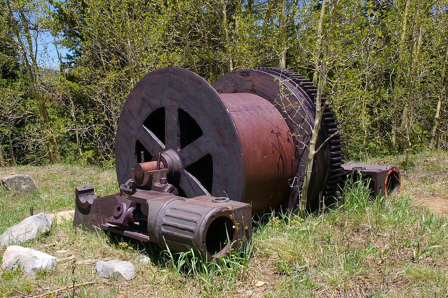 Historic Photograph - Historic Caribou Mine by Cynthia Cox Cottam