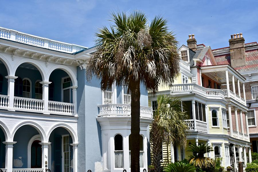 Historic Colonial Style Homes Photograph By Jeramey Lende