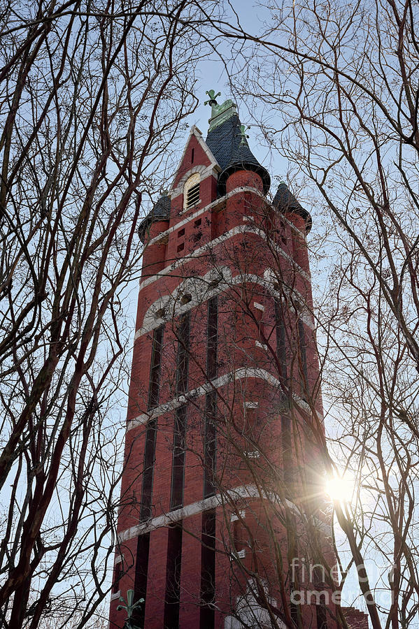 Historic First Presbyterian Church Bell Tower Photograph