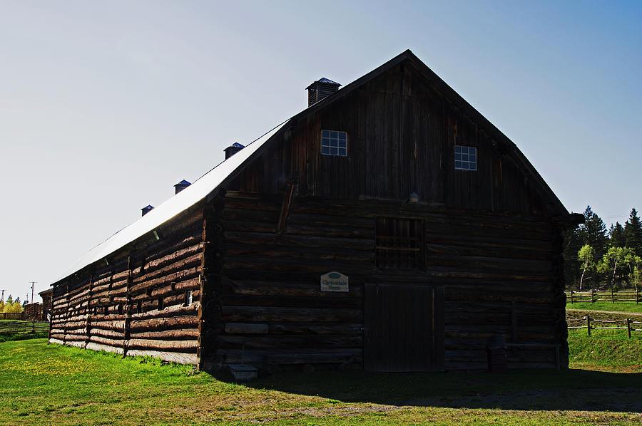 Historic Photograph - Historic Horse Barn by Robert Braley