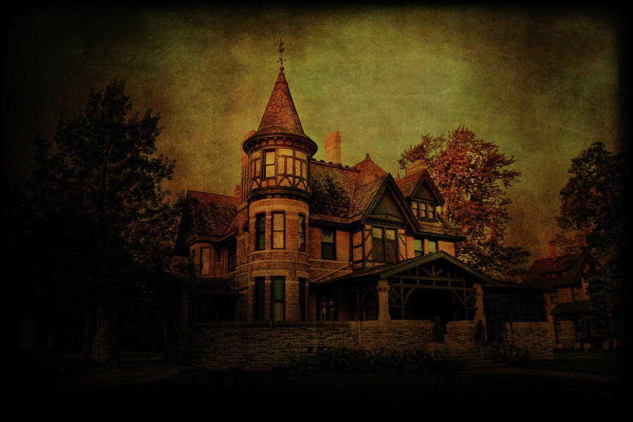 Historic Photograph - Historic House by Joel Witmeyer