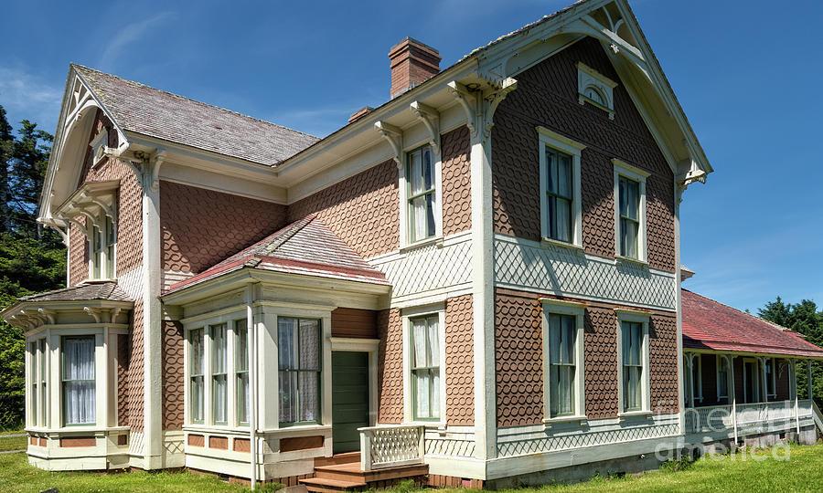 Historic Hughes House 1 by Al Andersen