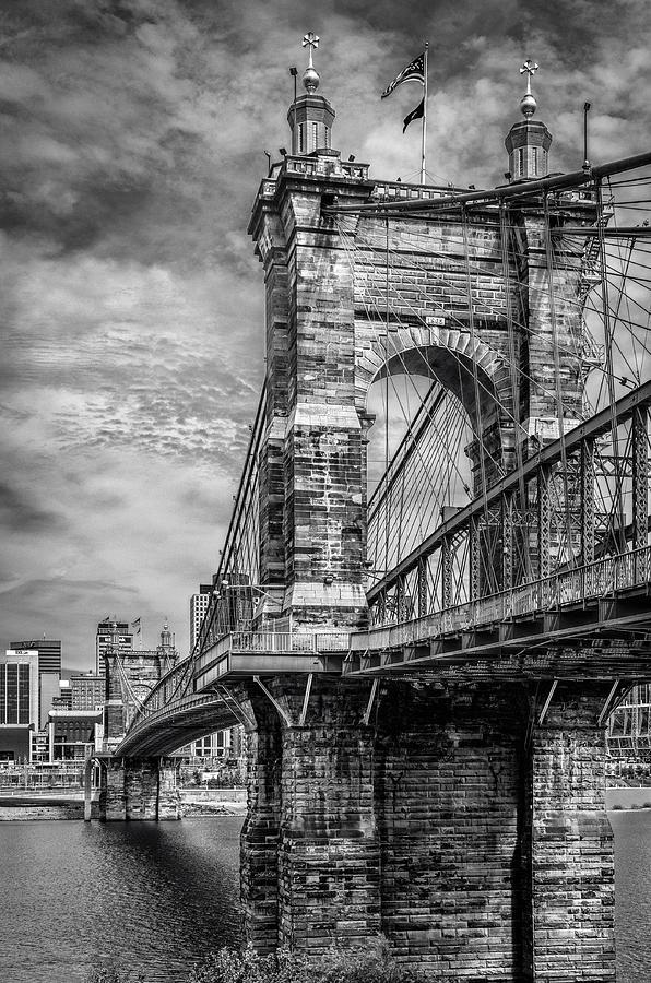 Bridge Photograph - Historic Roebling Bridge by Diana Boyd