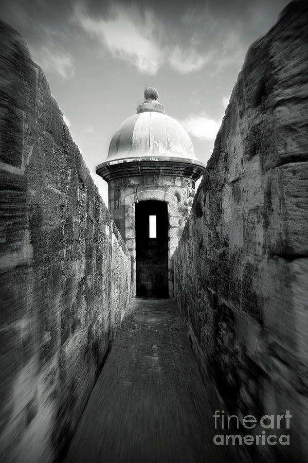 Fort Photograph - Historic San Juan by Perry Webster