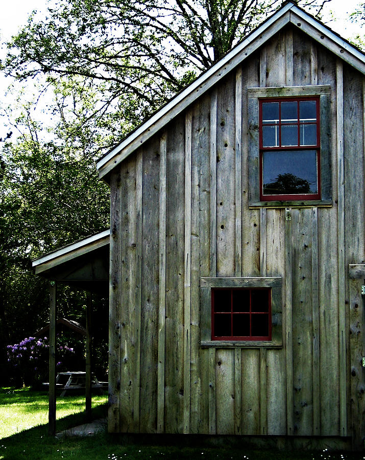 Shed Photograph - Historic Shed by Mg Blackstock