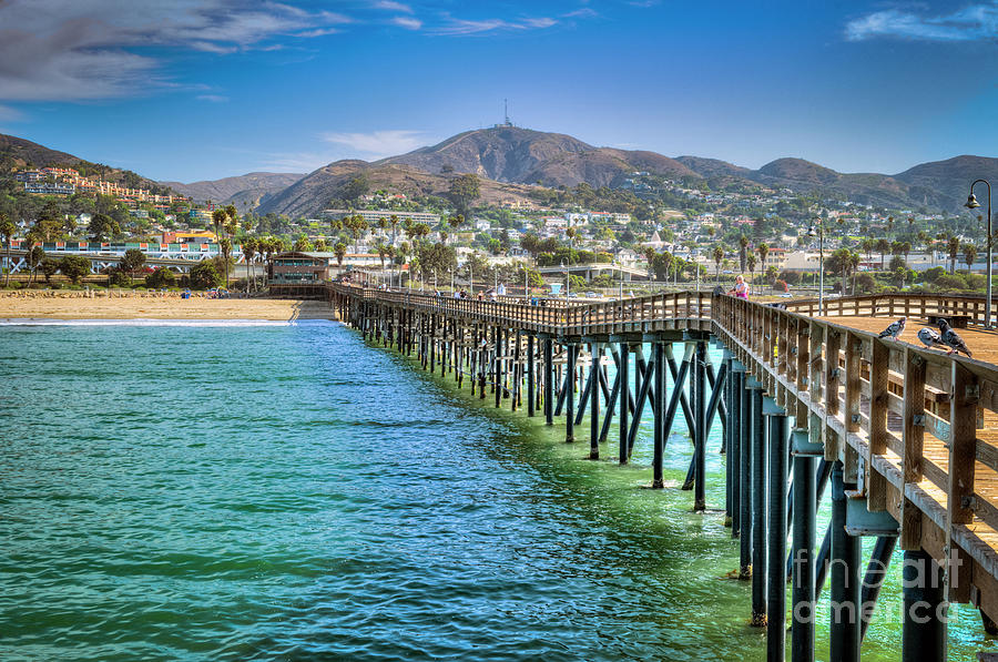 Historic Ventura Wood Pier Photograph