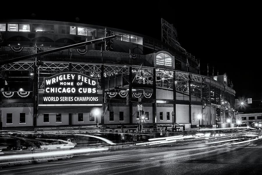 Historic Wrigley Field Photograph