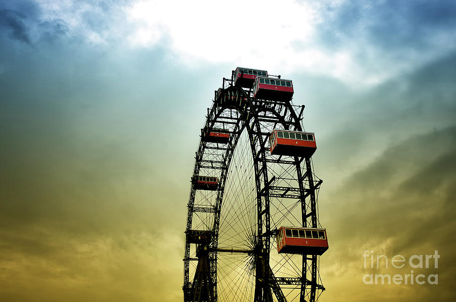 Historical Ferris Wheel by Jan Brons