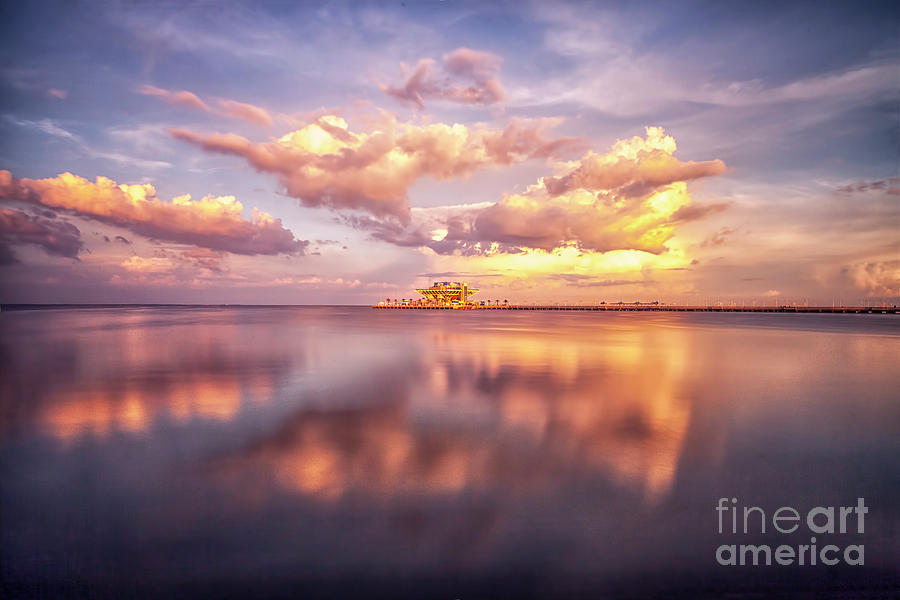 Historical Inverted Pyramid At Sunset St Petersburg Fl Long - Long exposure photographs capture entire day sunrise sunset