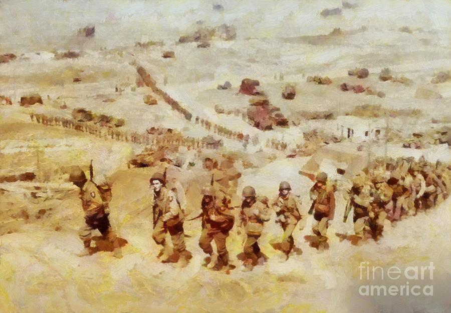 History In Color  D Day, Omaha Beach, Wwii