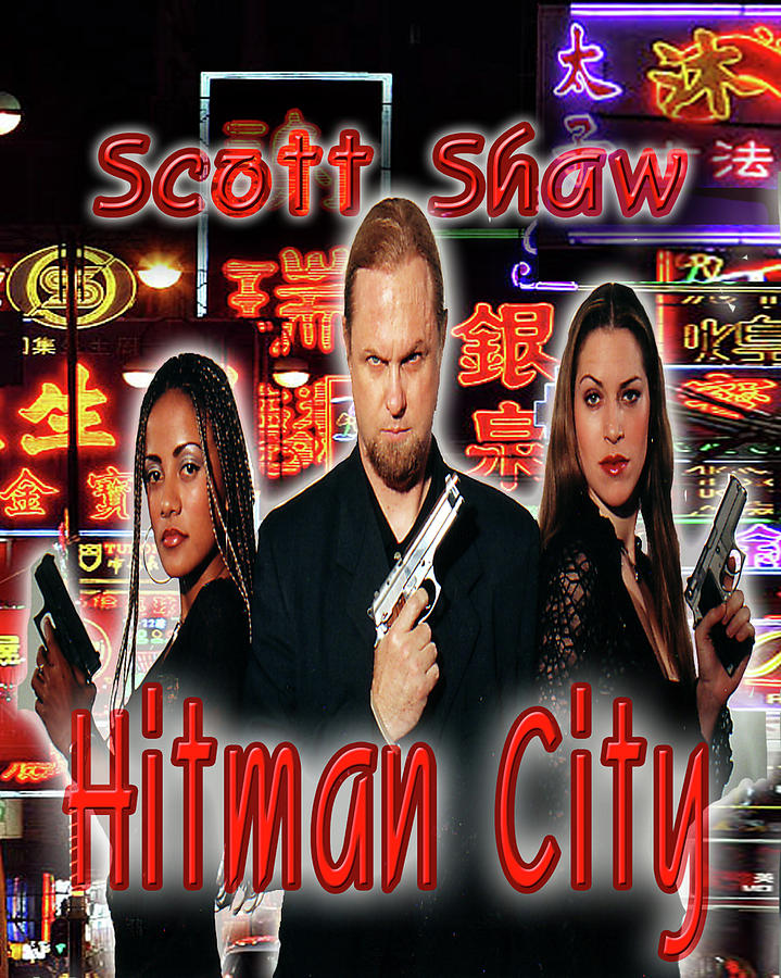 Zen Filmmaking Photograph - Hitman City by The Scott Shaw Poster Gallery