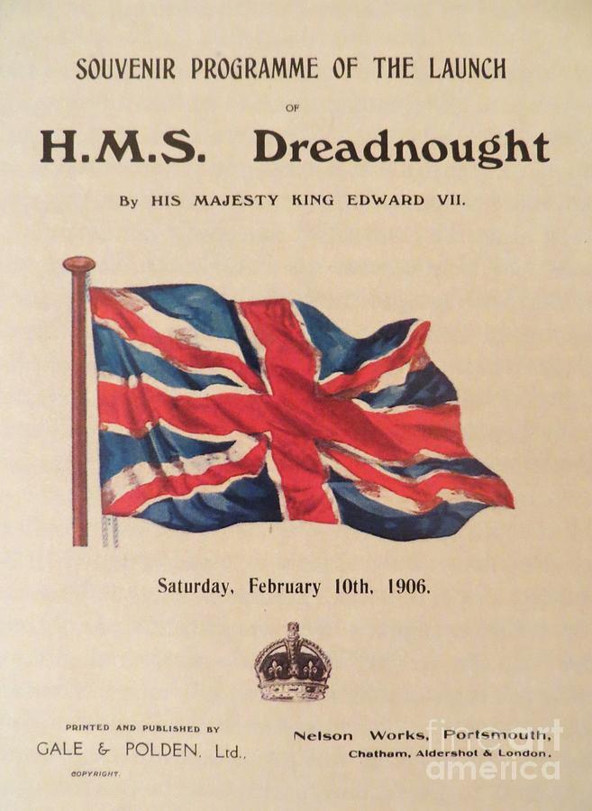 Hms Dreadnought Photograph - Hms  Dreadnought by Tim Townsend