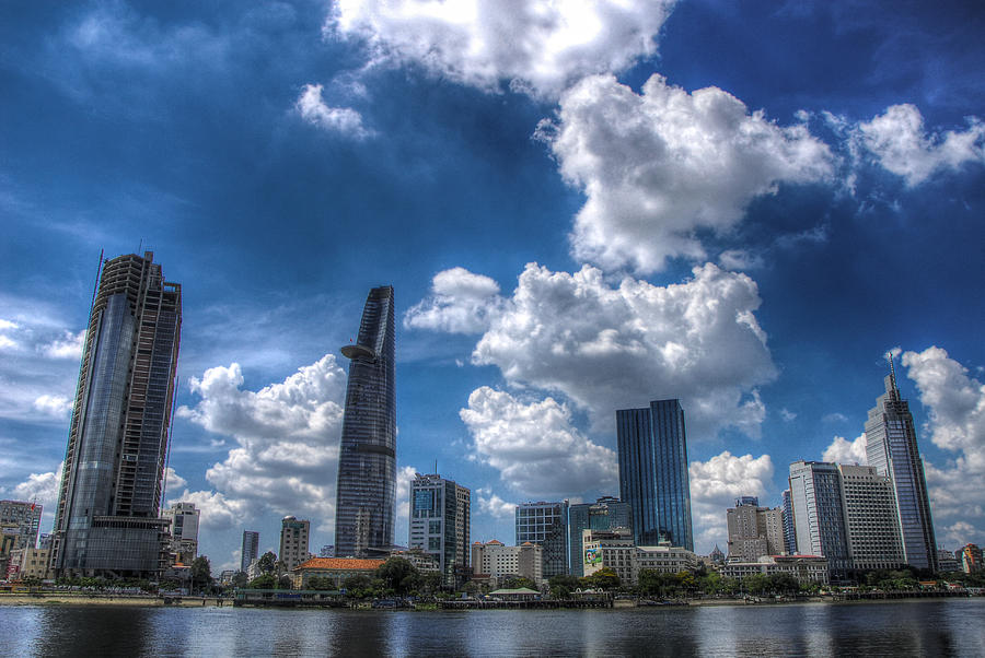 Hdr Photograph - Ho Chi Minh City by Nguyen Truc