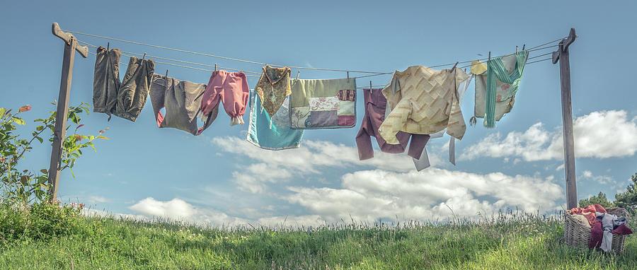 Hobbiton Photograph - Hobbit Clothes by Racheal Christian
