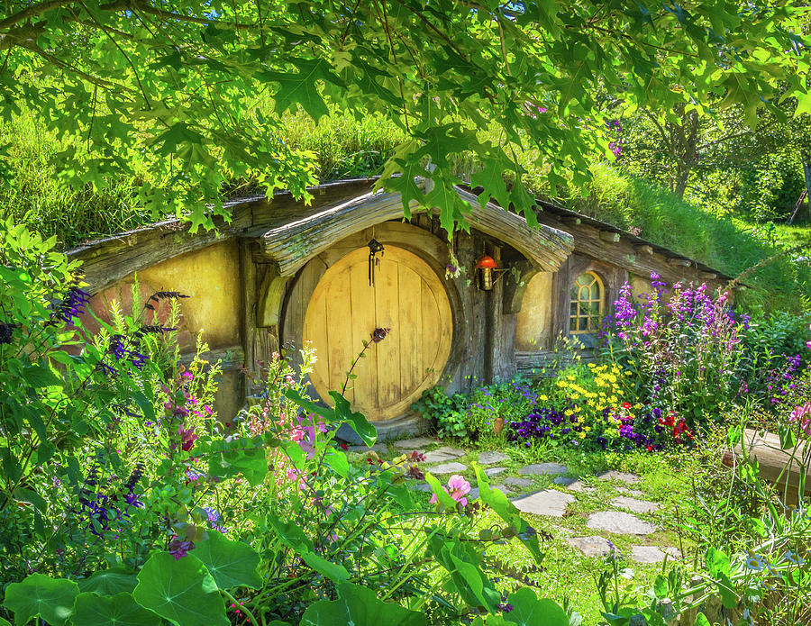 Hobbit Cottage Photograph
