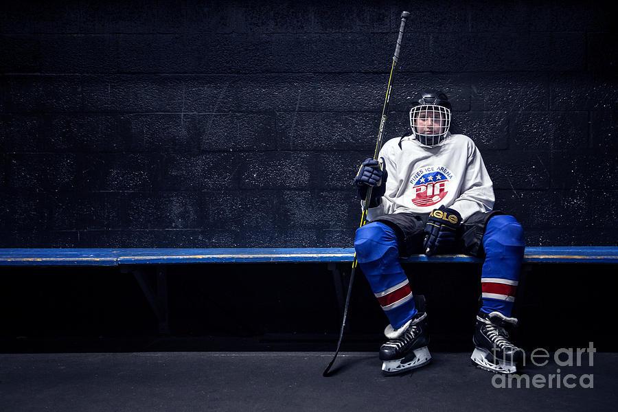 Kremsdorf Photograph - Hockey Strong by Evelina Kremsdorf
