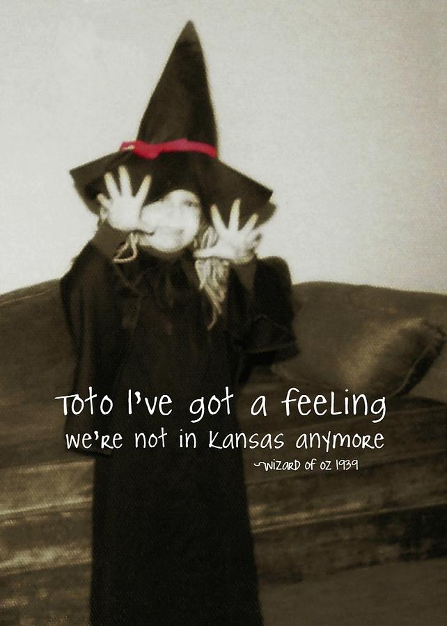 Witch Photograph - Hocus Pocus Quote by JAMART Photography