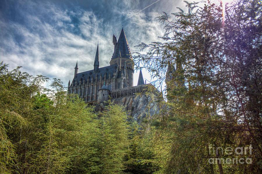 Universal Photograph - Hogwarts Castle by Luis Garcia