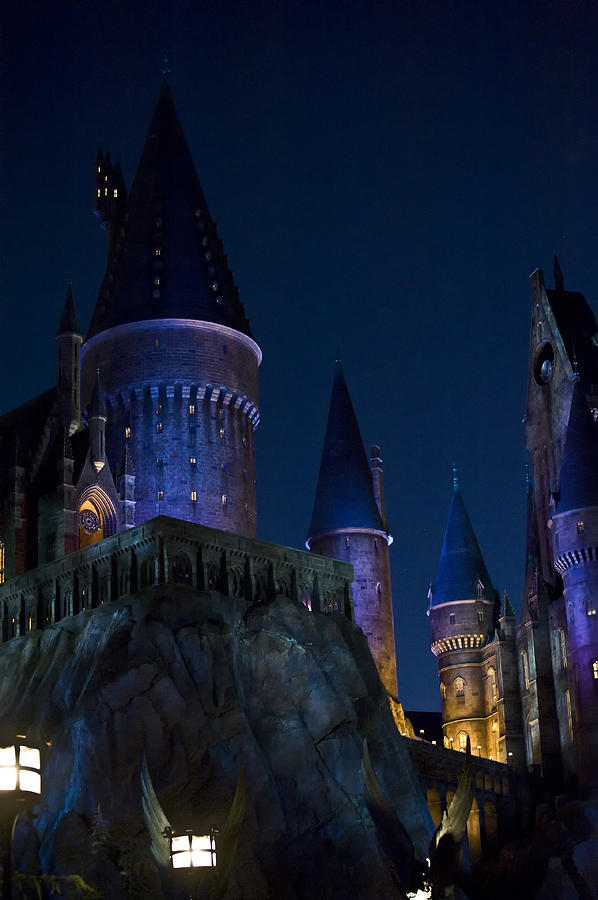 Disney Photograph - Hogwarts by Sarita Rampersad