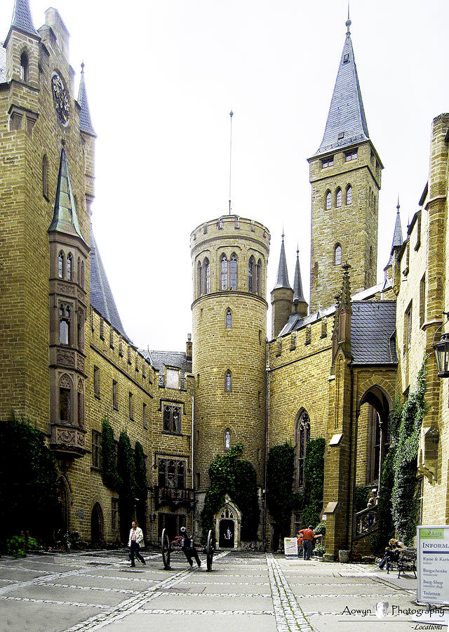 Germany Photograph - Hohenzollern Castle by Stephanie McGuire