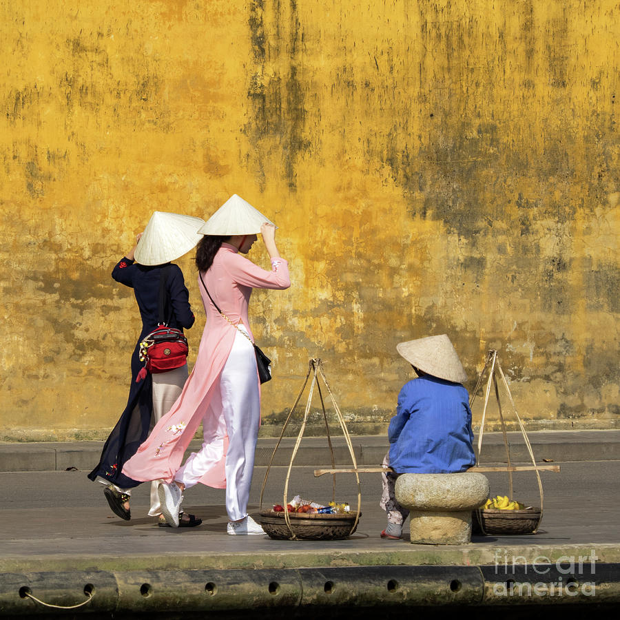 Hoi An Tan Ky Wall Hawker 10 Photograph by Rick Piper Photography