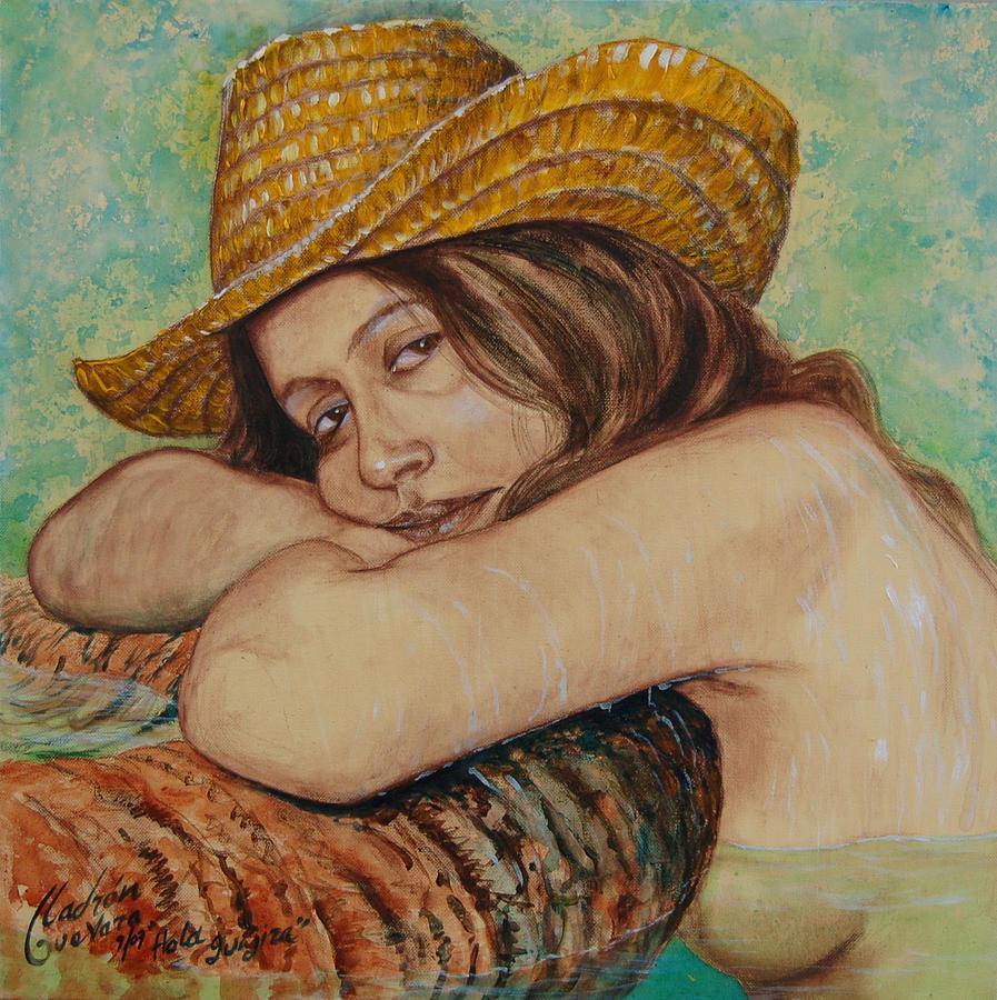 Hola Guajira Painting by Arnaldo Ladron de Guevara