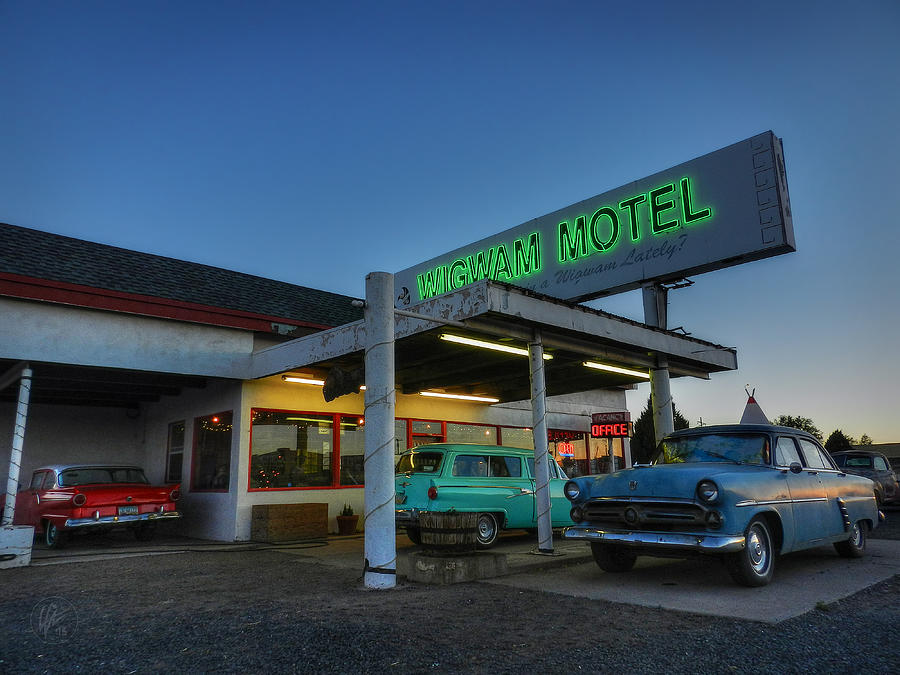 Wigwam Motel Photograph - Holbrook Az - Wigwam Motel 010 by Lance Vaughn