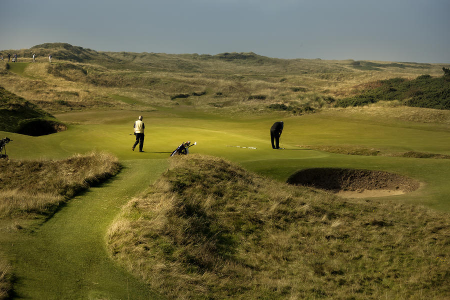 Hole 8 The Postage Stamp Royal Troon Golf Course Photograph By Alex