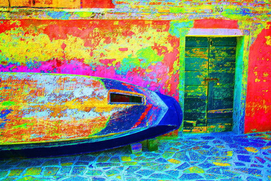 Digital Digital Art - Hole In The Boat by Donna Corless