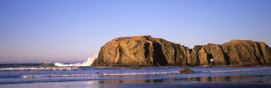 Beach Photograph - Hole in the Rock by HW Kateley