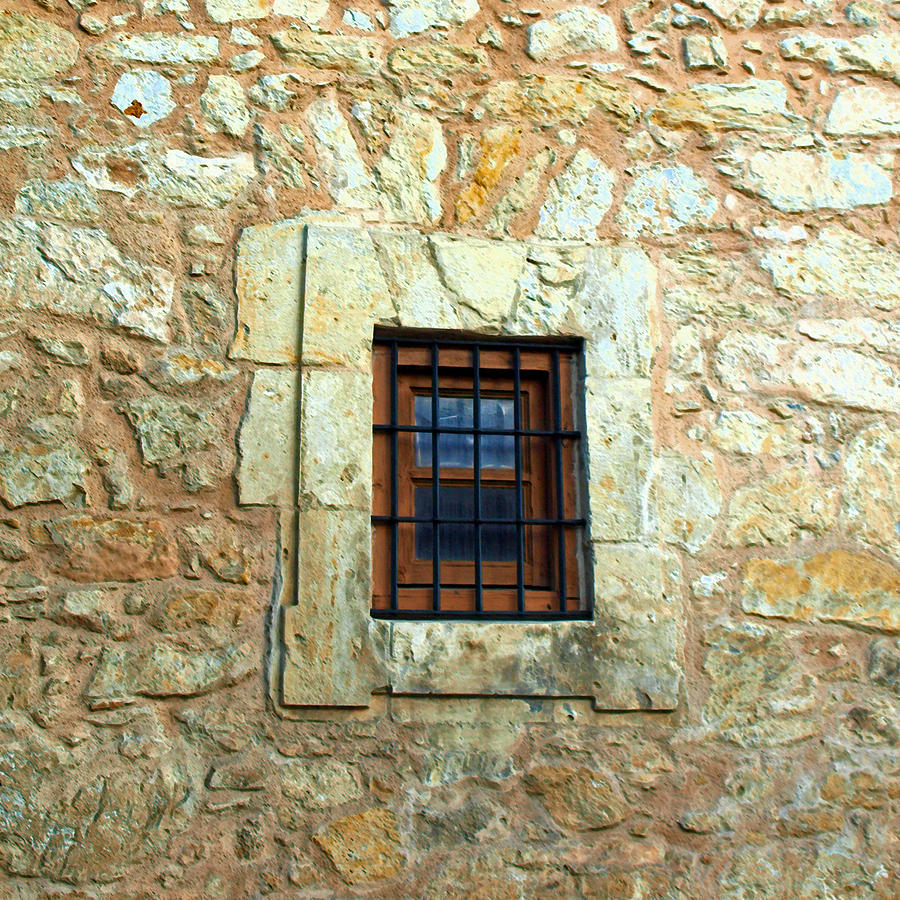 Window Photograph - Hole In The Wall by James Granberry