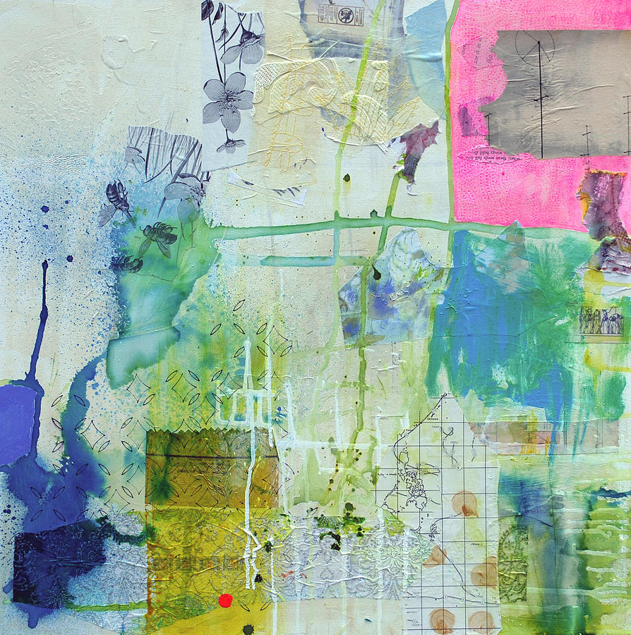 Mixed Media Painting - Holiday by Donna Stubbs