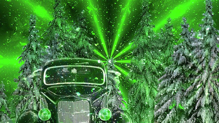Holiday Greetings Mixed Media