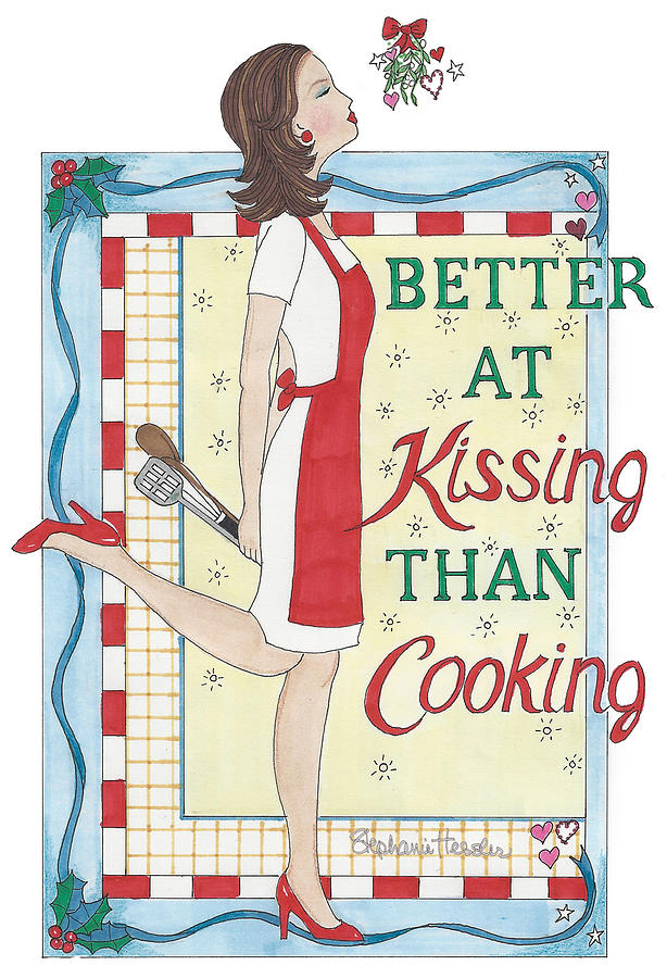 Holiday Kissing Cooking by Stephanie Hessler