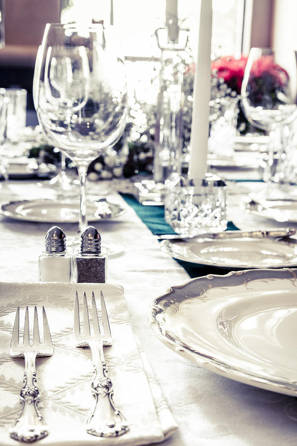 Holiday Table Photograph